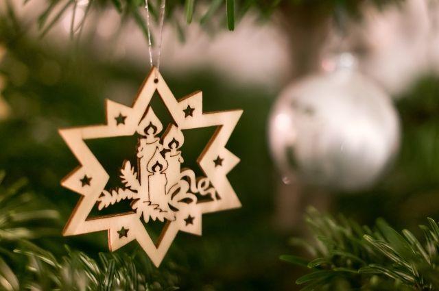 В Омске проводится конкурс на лучшее новогоднее украшение.