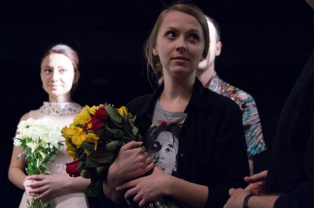 Режиссёр Евгения Мальгавко премьерой довольна.