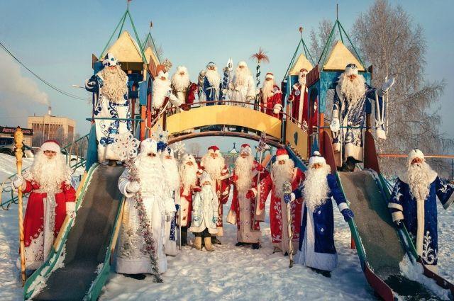 В Анжеро-Судженске прошел праздник сибирского валенка.
