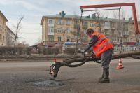 В Омске не смогли освоить деньги, которые выделили  на ремонт дорог.