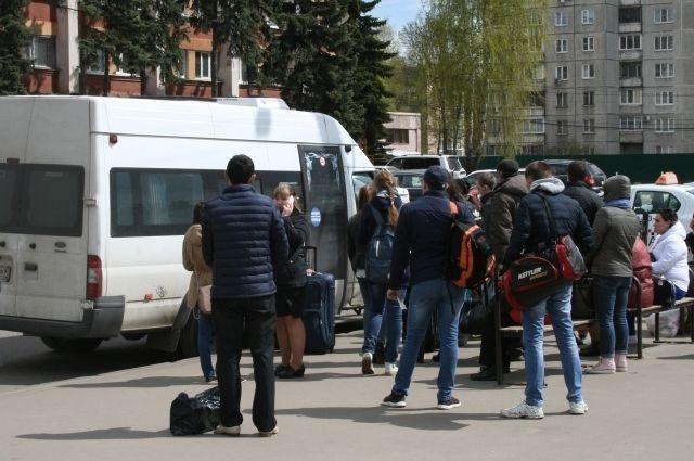 ВМахачкале водители маршрута №2 вышли назабастовку