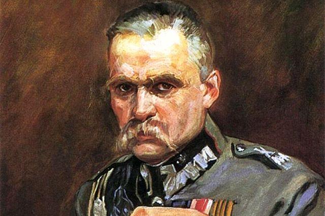 Портрет Юзефа Пилсудского кисти Войцеха Коссака, 1928 г.