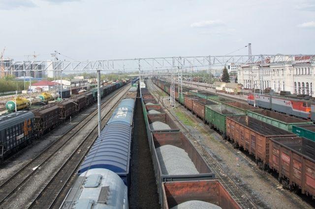 ВСамарской области грузовой поезд сбил насмерть мужчину