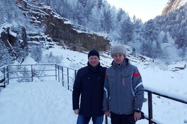 Сергей Еремин провёл выездное совещание взаповеднике «Столбы»