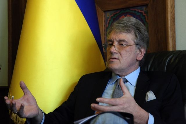 Ющенко: ЕСявляется основным кредитором русской агрессии наДонбассе