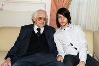 Владимир Наумов с сыном Кириллом.