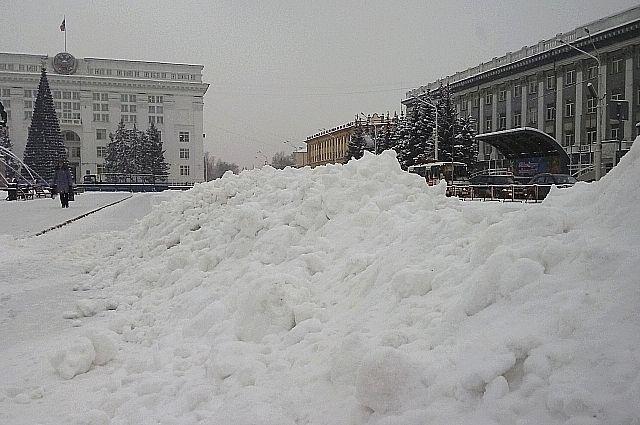 За прошедшую ночь на севере Кузбасса выпала треть декадной нормы осадков.