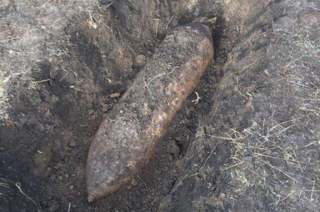 Авиационную бомбу времен ВОВ отыскали вжилом микрорайоне вРостовской области