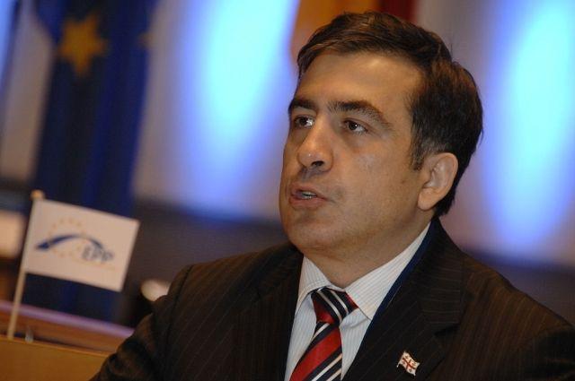 Саакашвили подозревают всокрытии противозаконных действий— СБУ