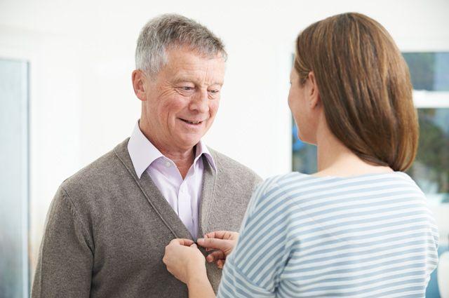 Уход за лежачим больными с болезнью альцгеймера пансионат для пожилых парус отзывы