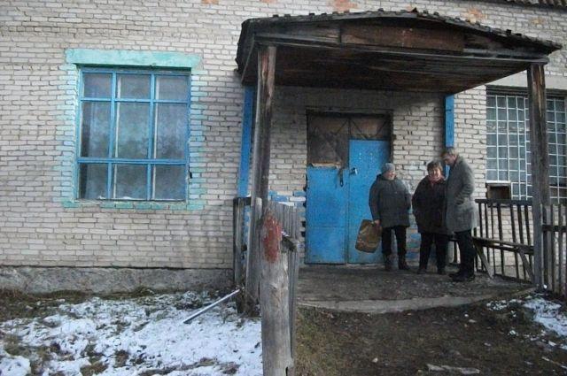 Клуб в селе Топольное.