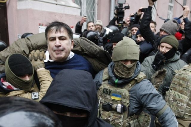 Задержание Саакашвили.