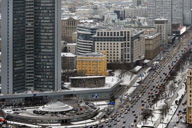 Москва - мегаполис, который всегда в движении.