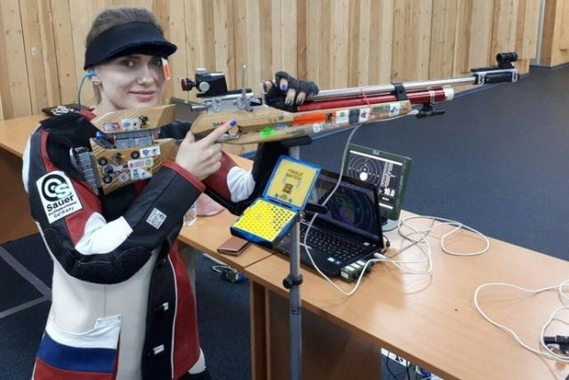 Москвичи выиграли Кубок страны встрельбе изпневматической винтовки