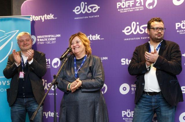 Игорь Янковский и Филипп Ильенко представили украинское кино в Таллине