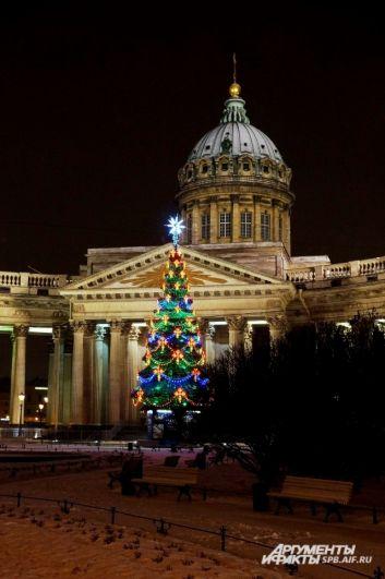 Петербург готов к встрече Нового года.