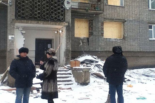 Взрыв произошел во время ремонтных работ.