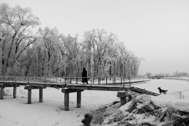 Зима в нашем крае - тоже повод для творчества.