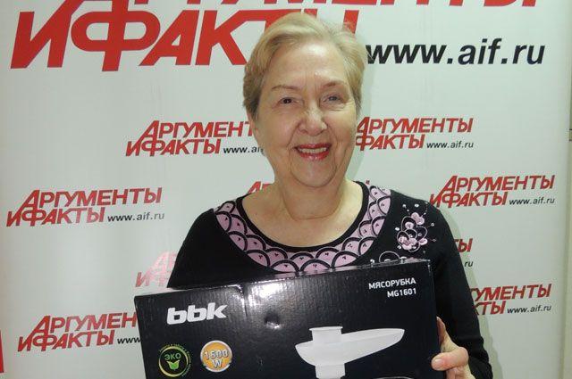 Нина Михайловна давно мечтала о такой мясорубке.