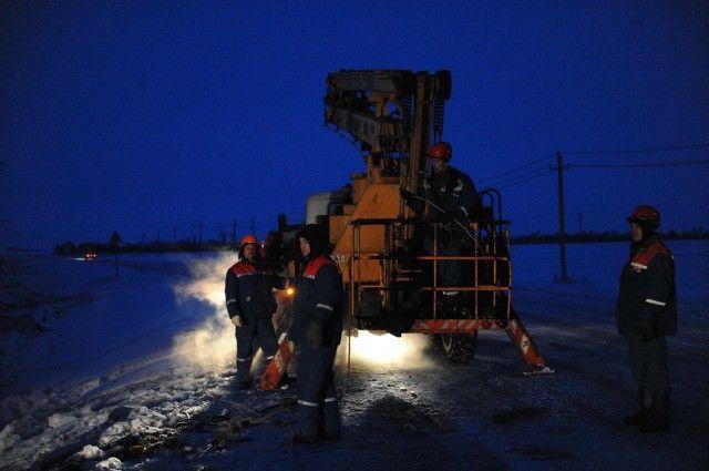 Снегопад иветер нарушили электроснабжение в11 районах Самарской области