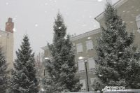 МЧС предупреждает:  в Оренбуржье ожидается сильный снегопад.