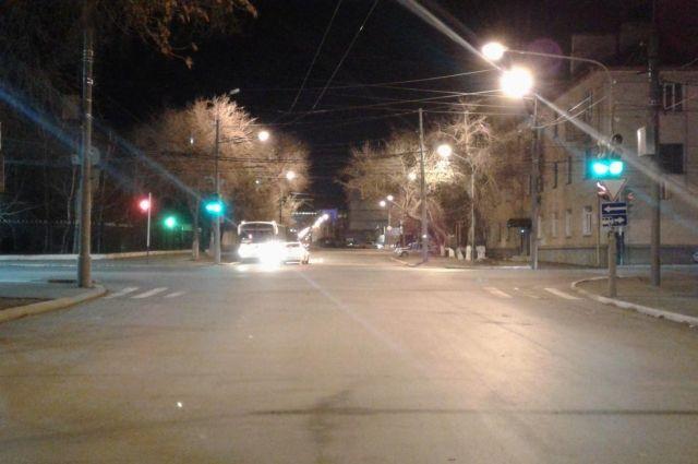 ВОренбурге наКраснознаменной вДТП пострадал 17-летний пешеход