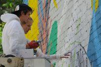 Конкурсное граффити нанесут на стену весной 2018 года.