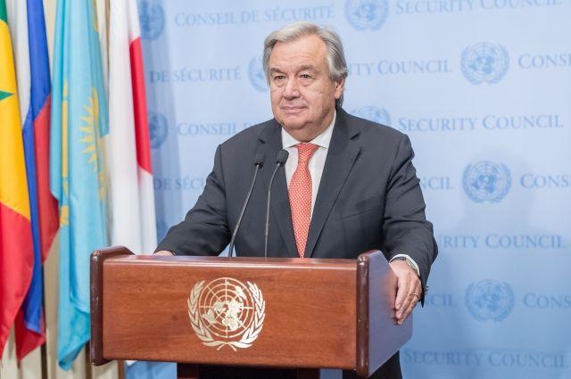 Генсек ООН объявил оликвидации комиссии порасследованию химатак вСирии