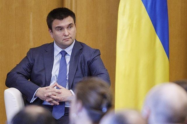Руководитель  МИД Украины призвал ОБСЕ усилить санкции против Российской Федерации