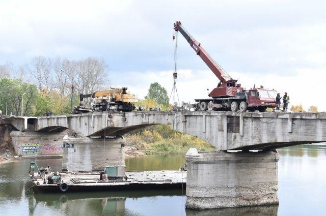 Перекопский мост через Которосль достроят впервой половине 2018 года