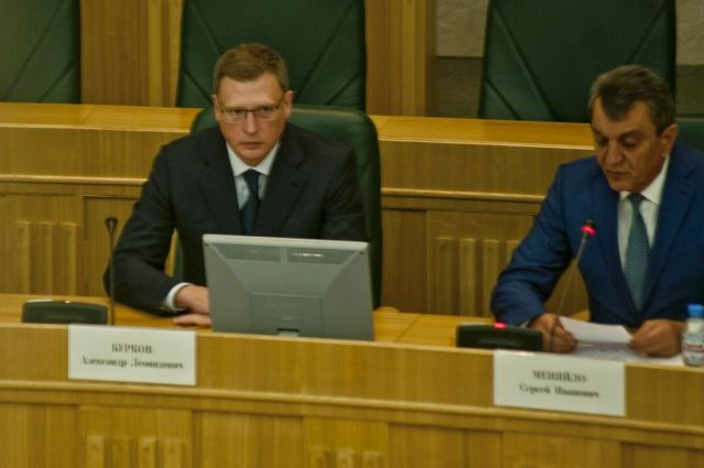 Александр Бурков провёл рабочую встречу с Сергеем Меняйло.