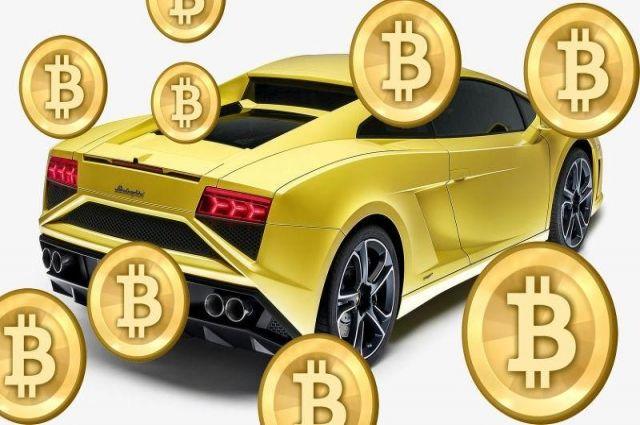 В Украине граждане продают автомобили за bitcoin