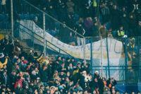 Фаны «Манчестер Сити» в матче с «Шахтером» вывесили баннер о героях АТО