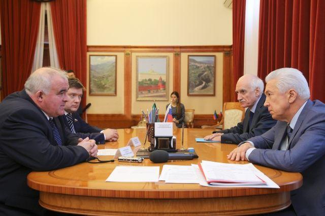 Руководитель  региона встретился сгубернатором Костромской области