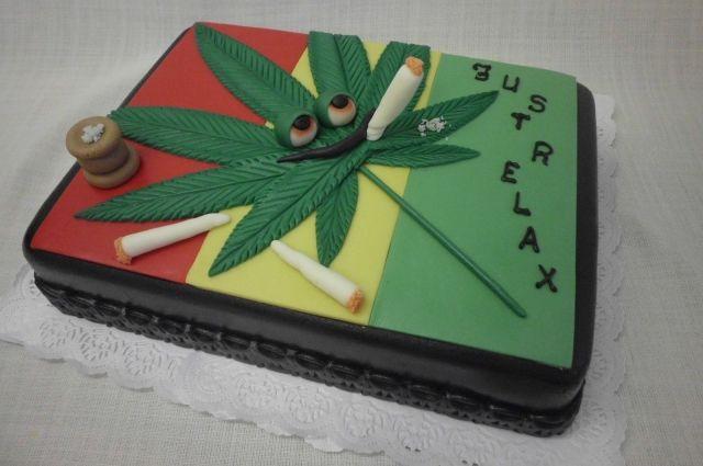 Торт с коноплей фото сушка марихуаны на батарее