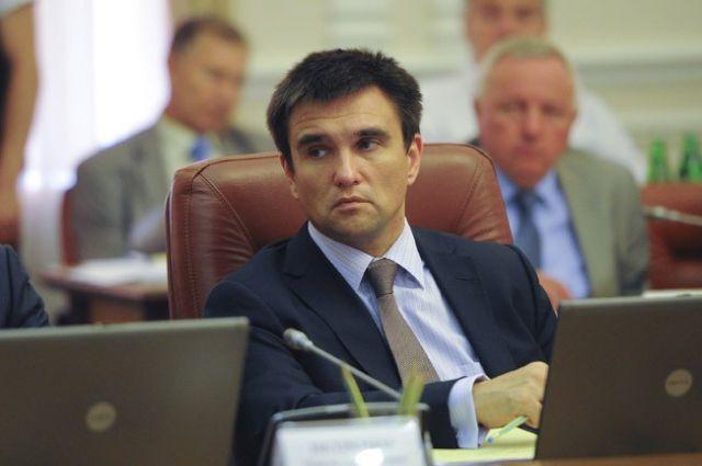 Климкин переговорил с Лавровым о заложниках на Донбассе и РФ