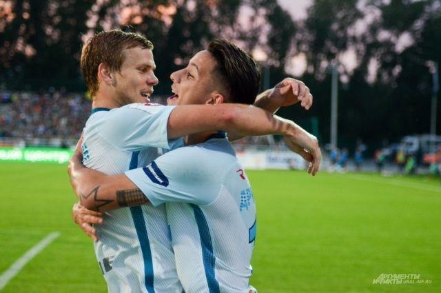 «Зенит» победил «Реал Сосьедад» в матче Лиги Европы