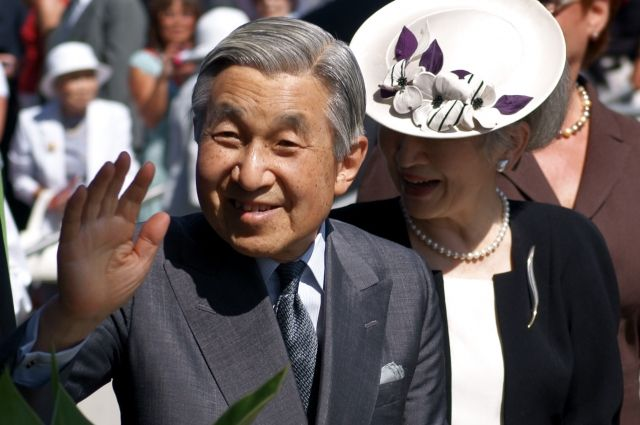 Власти Японии приняли решение одне ухода напокой императора