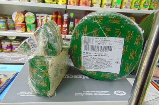 ВКрасноярске сожгли 21кг элитного германского сыра