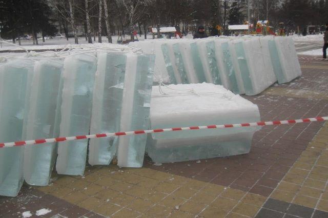 На бульваре Строителей в Кемерове появится уникальный ледовый городок.