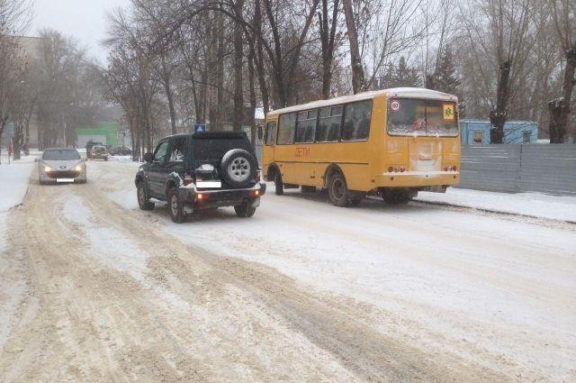 ВПушкине вДТП попал автобус спассажирами