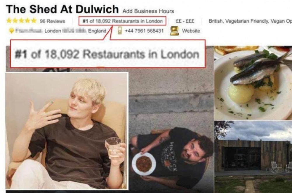 Вначале ресторан оказался на 18149-ом месте рейтинга, но его друзья стали писать отзывы к заведению, распространять информацию и в результате, уже в августе ресторан находился на 156-ом месте. Люди звонили, чтобы узнать о возможности посетить место, но всем Убо отказывал, говоря, что «места забронированы на недели вперед».