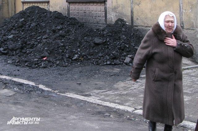 Уголь для жителей области сейчас на вес золота.