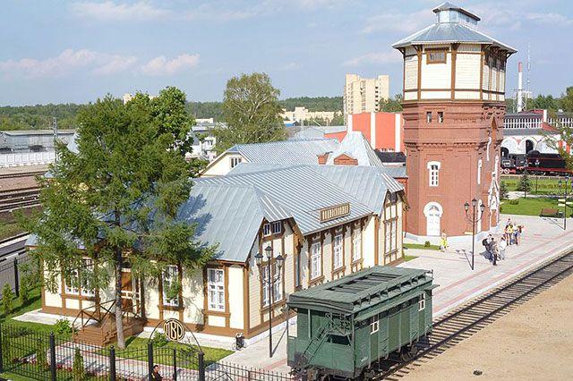 Станция «Подмосковная» Московско-Рижской железной дороги.