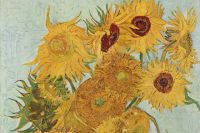 Винсент Ван Гог, «Подсолнухи». 1888 г.