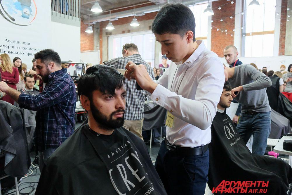 Первый открытый чемпионат по парикмахерскому искусству прошёл на площадке технологического центра «Digital Port».