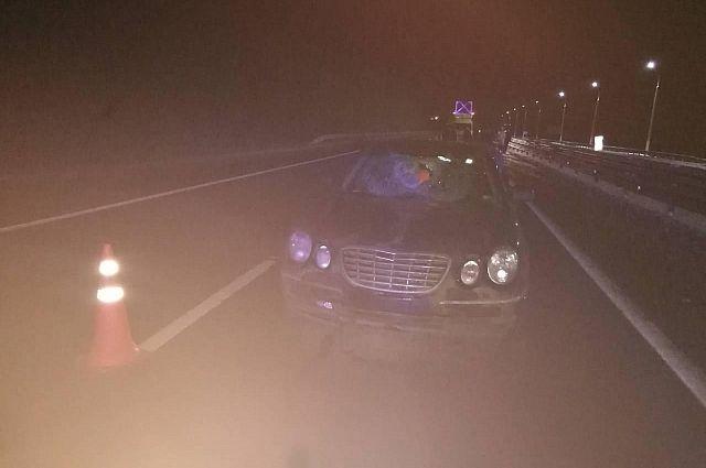 Пассажиры одной из машин, попавших в ДТП, доставлены в больницу