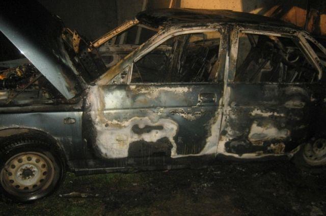ВВоронежской области полицейские словили подростка, спалившего три автомобиля
