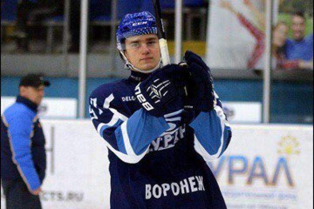 Вворонежский «Буран» вернулся нападающий Егор Алёшин