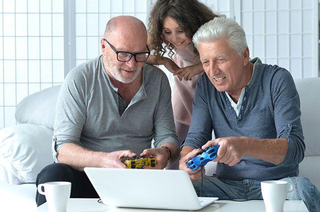 Правда ли, что компьютерные игры улучшают работу мозга у пожилых людей?